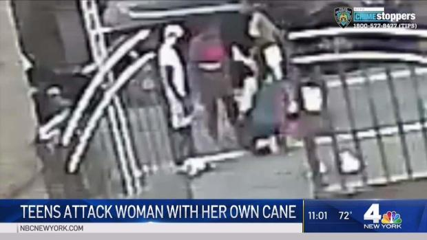 [NY] NYPD: Teens Attack 67-Year-Old Woman With Her Own Cane