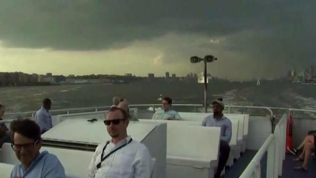 NY Waterway Underused on 1st Day of 'Summer of Hell'