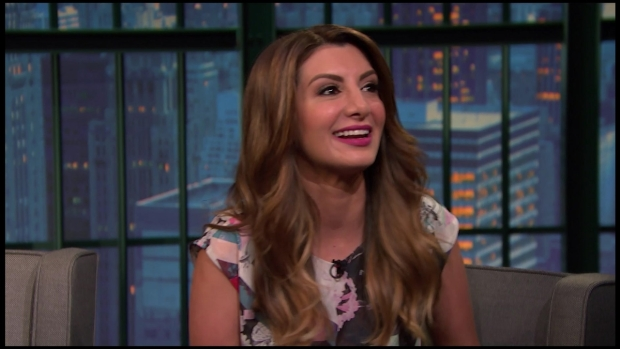 [NATL] Meyers: Nasim Pedrad Reveals the Story Behind Her Arianna Huffington Impression