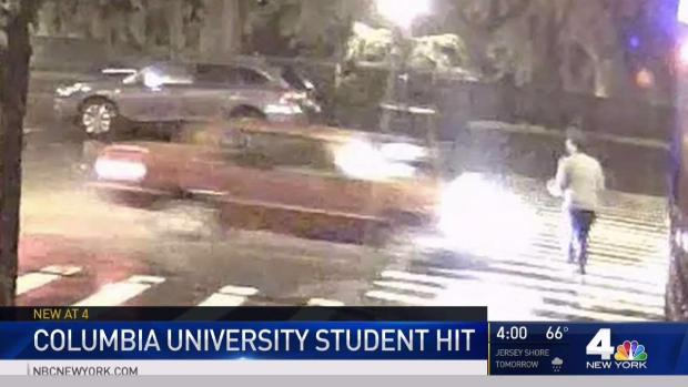 [NY] New Video Shows Car in Columbia Student Hit and Run