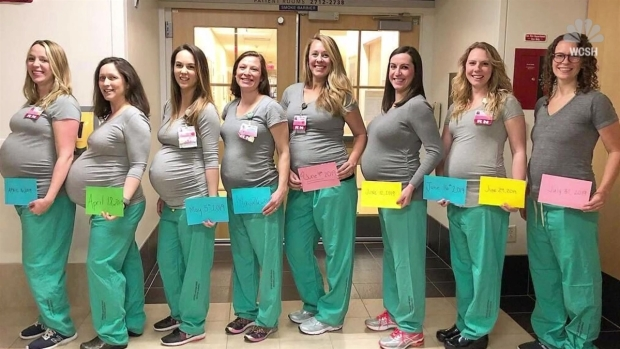 15 Maternity Nurses at 1 New York Hospital Are Pregnant at
