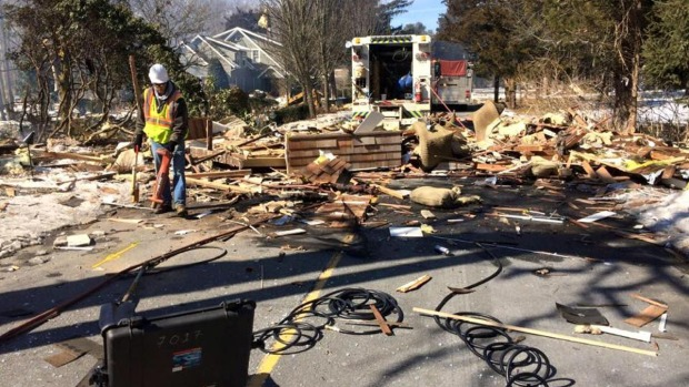Home Obliterated in Gas Explosion