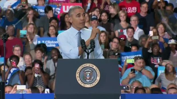 Obama: Trump 'uniquely unqualified' to be president