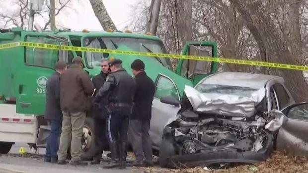 [NY] Off-Duty NYPD Officer Dies in Wreck With City Truck