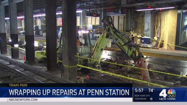 [NY] Penn Station Repair Work Ahead of Schedule