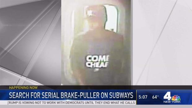 [NY] Police Looking for Subway Brake Puller