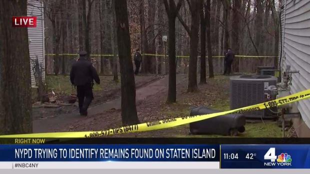 [NY] Police Work to Identify Remains Found in Staten Island