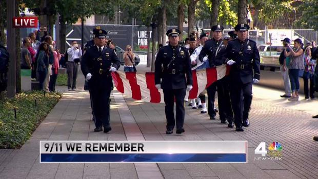 Powerful 'Star-Spangled Banner' Marks 16 Years Since 9/11