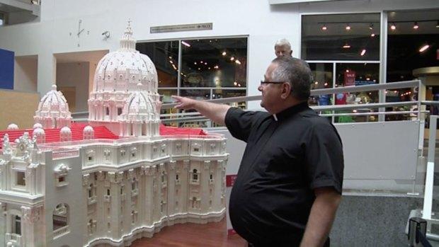 [NATL] Priest Builds Elaborate Lego Replica of Vatican