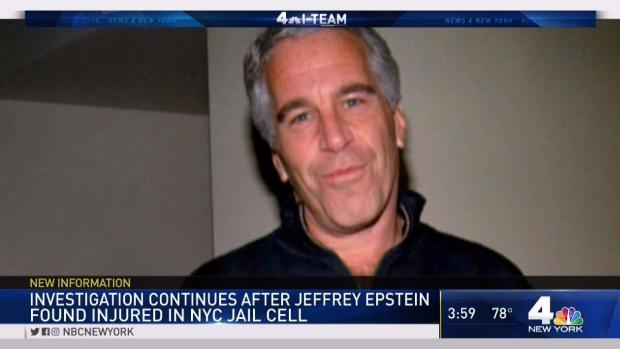 [NY] Probe Underway After Epstein Found Hurt in Jail Cell