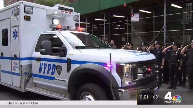 [NY] Procession Honors NYPD Cop Killed in the Line of Duty