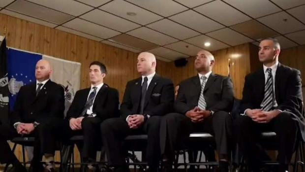 [NY] I-Team Update: NJ Cops, Firefighters Flood Council Meeting in Military Bias Fight