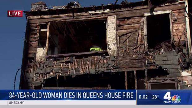 [NY] Queens House Fire Takes Like of 84-Year-Old Woman, Injures 85-Year-Old Man