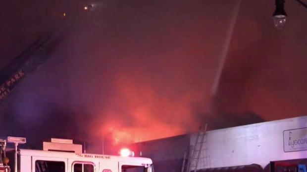 [NY] Raging Fire Rips Through Several New Jersey Businesses