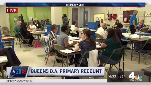 [NY] Recount in Queens District Attorney Race