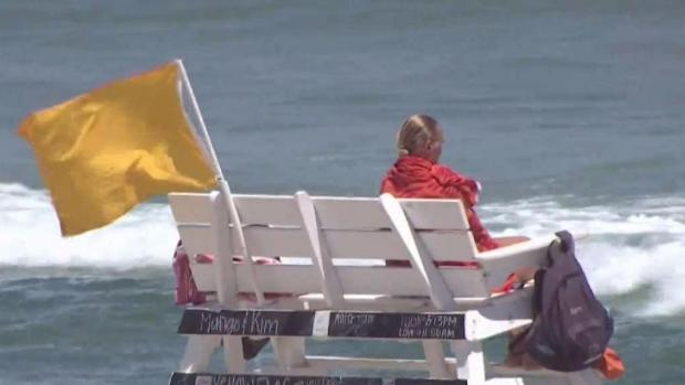 Rip Currents Keep NJ Lifeguards on High Alert