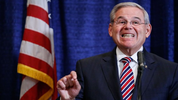 [NY] Sen. Menendez Reacts to Indictment on Corruption Charges