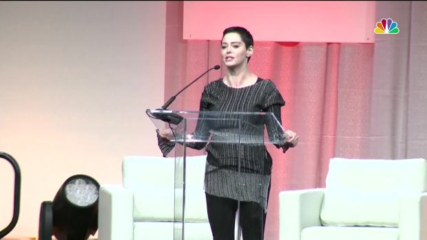 Rose McGowan Makes First Appearance Since Weinstein Claim