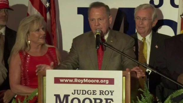 Trump doesn't rule out backing Moore