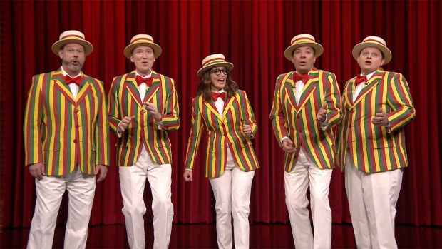 'Tonight': Ragtime Gals, Tina Fey Sing 'That's What I Like'