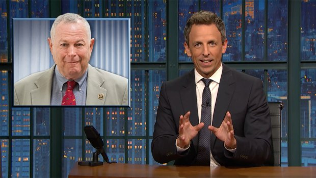 [NATL] 'Late Night': Checking in With Rep. Dana Rohrabacher of Calif.