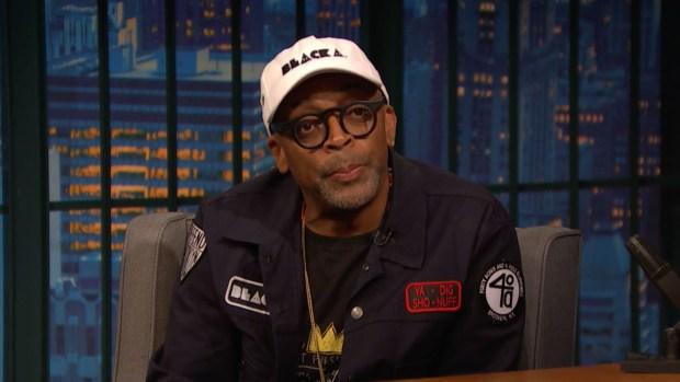 [NATL] 'Late Night': Lee Talks Charlottesville, 'BlacKkKlansman'