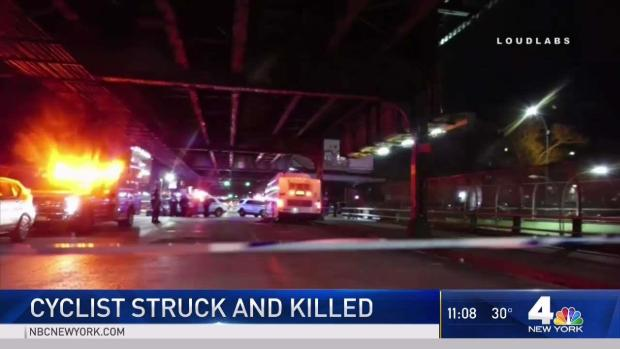 Search for Truck That Killed Cyclist in NYC Hit-Run