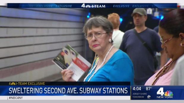 [NY] Second Avenue Subway Swelters