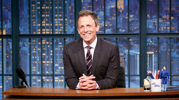 [NATL] Meyers Celebrates Three-Year 'Late Night' Anniversary