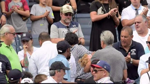 [NY] Shock at Yankee Stadium as Foul Ball Hits Girl