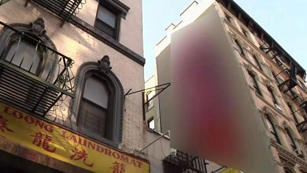 [NY] Shocked NYC Apartment Owner Paints Over Phallus