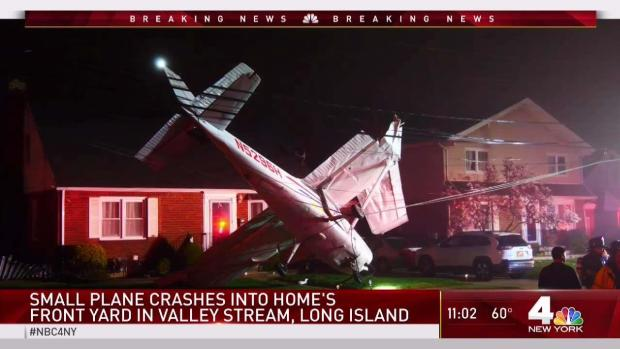 [NY] Small Plane Crashes in Valley Stream