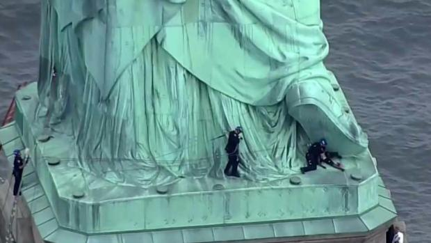 [NY] Statue of Liberty Climber Due in Federal Court