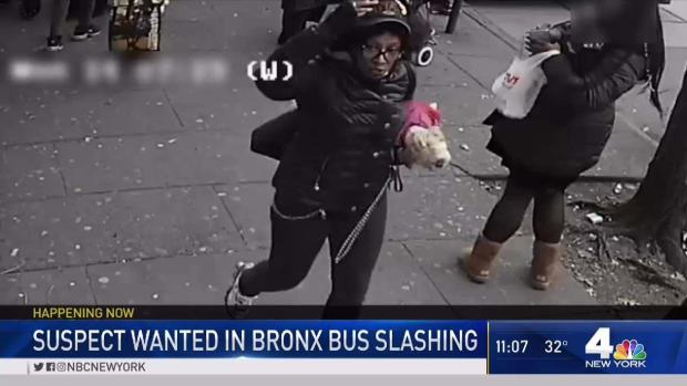 [NY] Suspect Wanted in Bronx Bus Slashing