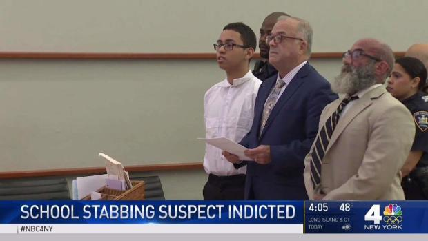 [NY] Suspect in Deadly NYC School Stabbing Pleads Not Guilty