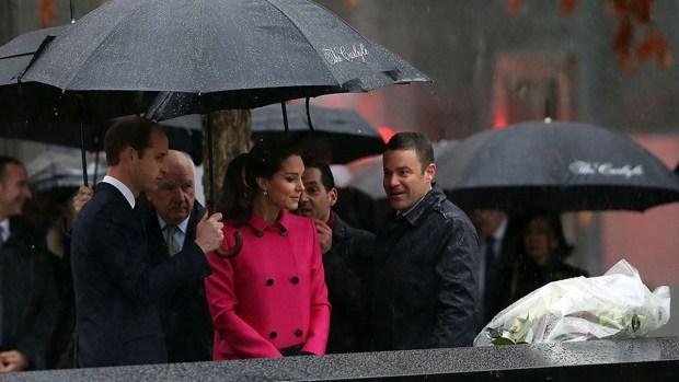 [NY] Prince William, Kate Visit Sept. 11 Memorial