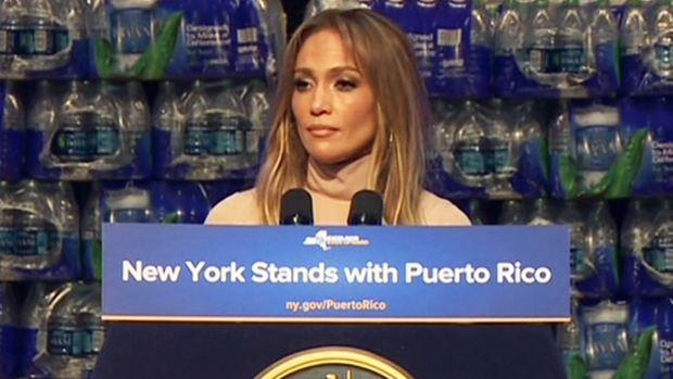 [NY] J.Lo Pledges $1M for Puerto Rico Relief