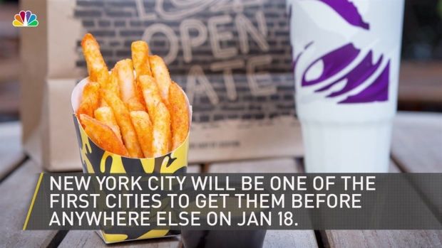 [NY] Nacho Fries Are Coming Back to Taco Bell