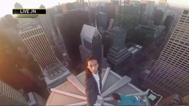 [NY] WTC Climber Nabbed Doing Handstands Atop Another High-Rise