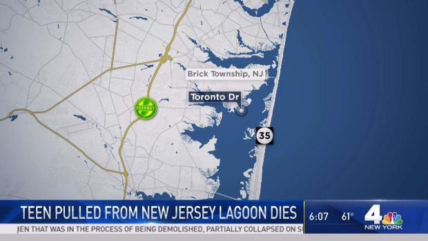 [NY] Teen Pulled From NJ Lagoon Dies