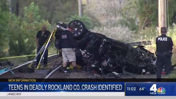 [NY] Teens in Deadly Rockland County Crash Identified