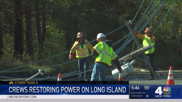 [NY] Tens of Thousands Without Power on Long Island
