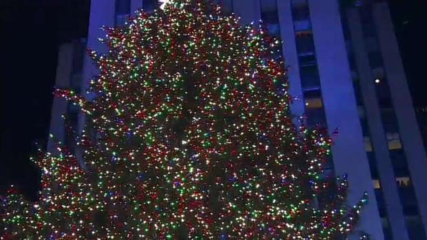 [NY] The 2018 Rockefeller Tree