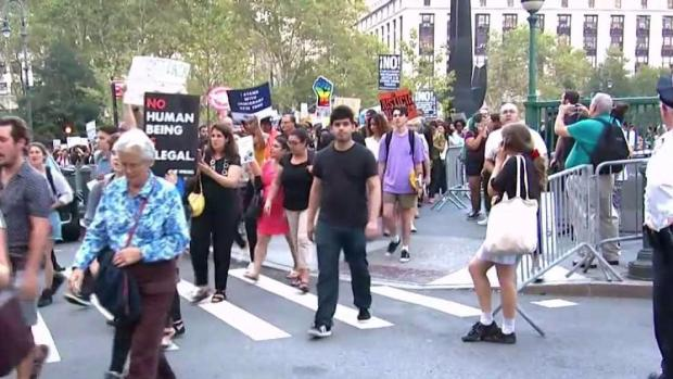 [NY] Thousands March in NYC Protesting Trump's DACA Decision