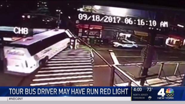 [NY] Tour Bus in Crash That Killed 3 May Have Run Red Light