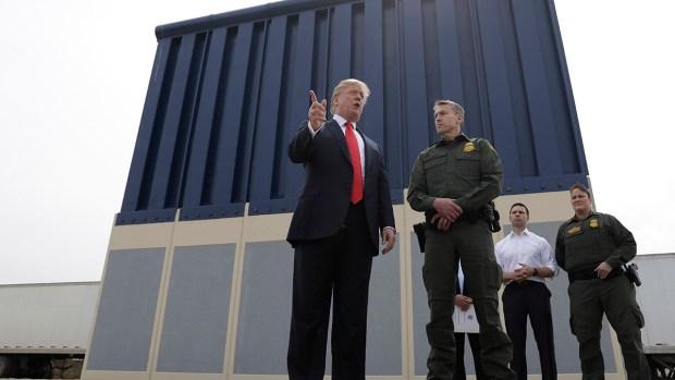 [NATL-DGO] President Trump Tours Border Wall Prototypes in San Diego