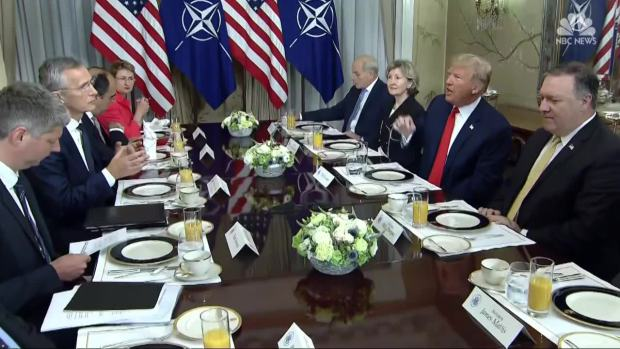 [NATL] Trump Lashes Out At NATO Allies
