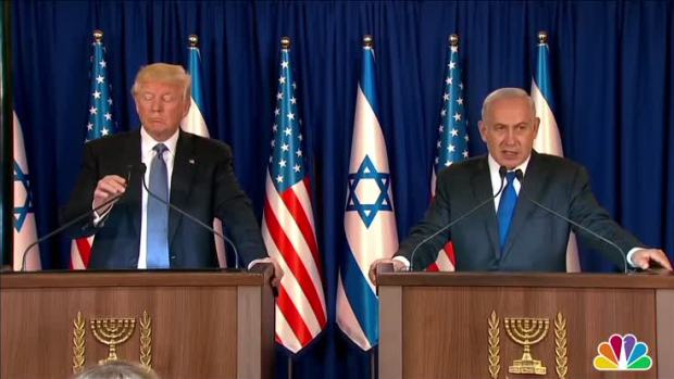 [NATL] Netanyahu, Trump Talk About Regional Stability During Press Conference