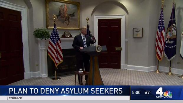 [NY] Trump Announces Changes to Asylum Seeking