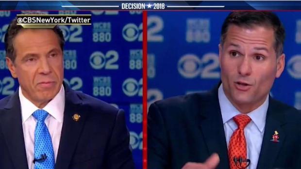 [NY] Trump Is Heated Topic Between Cuomo and Molinaro